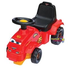 Dede Toys - Dede Oyuncak Bebek Yürüteçi Cars İlk Traktörüm +1 Yaş