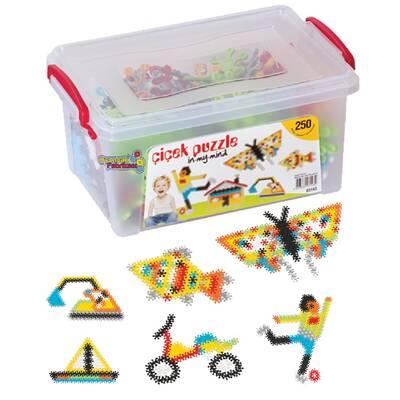 Dede Oyuncak Çiçek Puzzle Küçük Boy Box 250 Parça