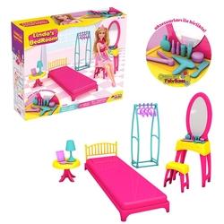 Dede toys - Dede Oyuncak Linda'nın Yatak Odası Oyun Seti