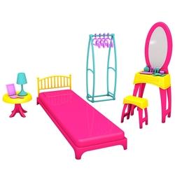Dede Oyuncak Linda'nın Yatak Odası Oyun Seti - Thumbnail