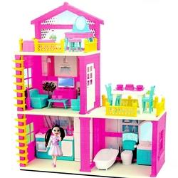 Dede toys - Dede Oyuncak Lola'nın Düşler Evi 3 Katlı Aksesuarlı