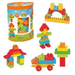 Dede Toys - Dede Oyuncak Multi Blocks 120 Parça 01255