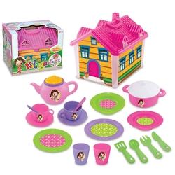 Dede Toys - Dede Oyuncak Niloya Ev Çay Seti Çantalı 19 Parça