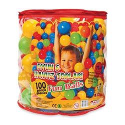 Dede toys - Dede Oyuncak Oyun ve Havuz Topu 7 Cm (100 Adet Pvc Torbada)