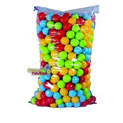 Dede Toys - Dede Oyuncak Plastik Oyun Havuz Topları 500 Adet 9 Cm Torbada