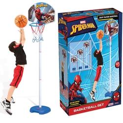 Dede Toys - Dede Oyuncak Spiderman Ayarlanabilir Ayaklı Basketbol Seti