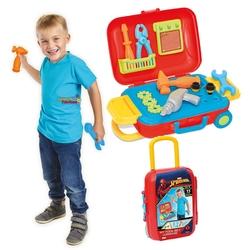Dede Toys - Dede Oyuncak Spiderman Tamir Set Bavulum