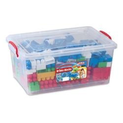 Dede Toys - Dede Toys Eğitici Brikko Blocks Kutulu Bloklar 104 Parça No: 3