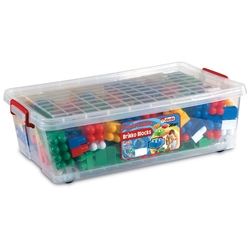Dede Toys - Dede Toys Eğitici Brikko Blocks Kutulu Bloklar 240 Parça No: 5