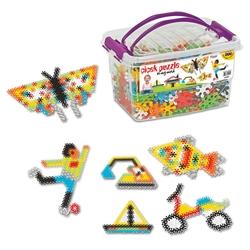 Dede Toys - Dede Toys Eğitici Çiçek Puzzle Box (500 Parça) 01904