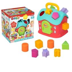 Dede Toys Eğitici Oyuncak Bultak Ev 13 Parça - Thumbnail
