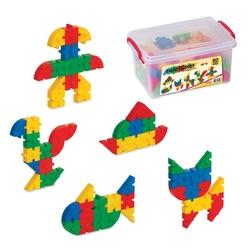 Dede Toys - Dede Toys Eğitici Smart Blocks Küçük Box (80 Parça) 03142