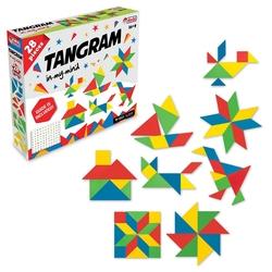 Dede Toys - Dede Toys Eğitici Tangram 28 Parça Kutulu