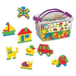 Dede Toys - Dede Toys Eğitici Tik Tak Box 500 Parça (01938)