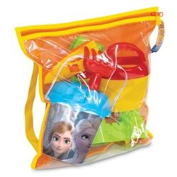 Dede toys - Dede Toys Frozen Çantalı Plaj Seti Aksesuarlı 35x15 Cm