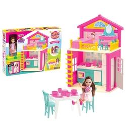 Dede toys - Dede Toys Lola'nın 2 Katlı Oyuncak Evi Aksesuarlı