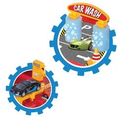 Dede Toys Oyuncak 1 Katlı Otopark Garaj Oyun Seti 03066 - Thumbnail