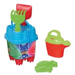 Dede toys - Dede Toys PJ Masks Küçük Kale Plaj Kova Seti 16x32 Cm