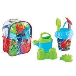 Dede toys - Dede Toys Pj Masks Resimli Sırt Çantalı Plaj Seti 03502