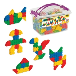 Dede Toys - Dede Toys Smart Blocks Box (160 Parça) 01907