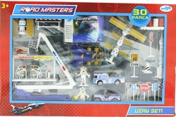 ROADMASTERS - Die Cast Asansörlü Uzay Seti 30 Parça Jp8106
