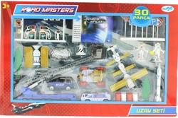 ROADMASTERS - Die Cast Merdivenli Uzay Seti 30 Parça Jp8106