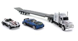 MEGA - Die Cast Spor Araba Taşıyan Çekici Tır BM
