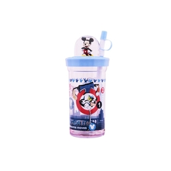 Disney - Disney Mickey Mouse Pipetli Kapaklı Bardak