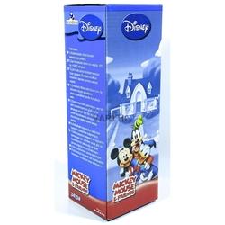Disney - Disney Mickey Mouse Uzun Çelik Bardaklı Pipetli Termos Matara