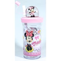 Disney - Disney Minnie Mouse Pipetli Kapaklı Bardak
