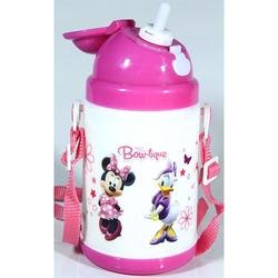 Disney - Disney Minnie Mouse Pipetli Su Matarası 350ml