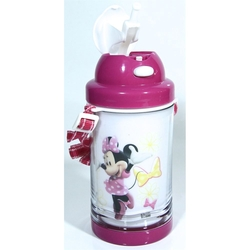 Disney - Disney Minnie Mouse Pipetli Su Matarası 500ml