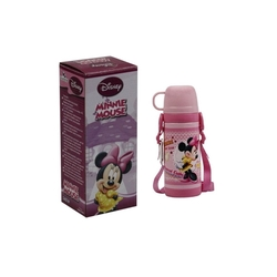 Disney - Disney Minnie Mouse Uzun Çelik Bardaklı Termos Matara