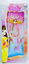 BELLA - Disney Prenses Belle Asa-Kolye-Bileklik Seti