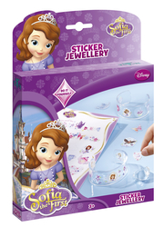 TOTUM - Disney Prenses Sofia Çıkartmalı Takı Seti