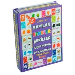Dıy Toy - Dıy Toy Eğitici Oyuncaklar 5 li Süper Set (Sayılar-Renkler-Şekiller-İlişki Kurma