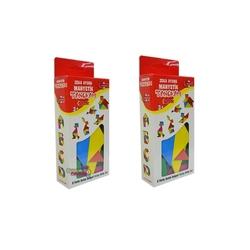 Dıy Toy - Dıy Toy Eğitici Zeka Oyunu Manyetik Tangram Oyunu