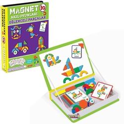 Dıy Toy - Dıy Toy Magnet IQ Akıl Oyunları Eğlenceli Parçalar 76 Parça