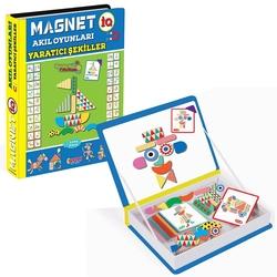 Dıy Toy - Dıy Toy Magnet IQ Akıl Oyunları Yaratıcı Şekiller 73 Parça
