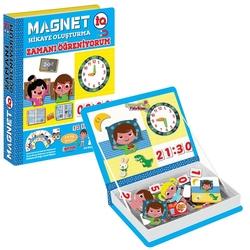 Dıy Toy - Dıy Toy Magnet-İQ Hikaye Oluşturma Zamanı Öğreniyorum 69 Parça