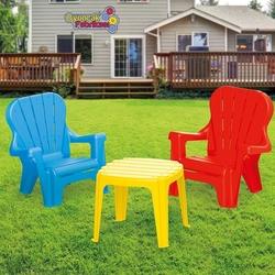 Dolu Oyuncak Fabrikasi - Dolu Çocuk İçin Plastik Masa ve Sandalye Seti