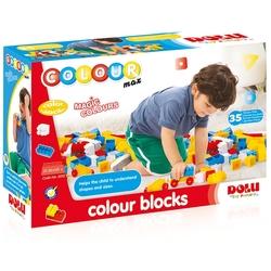 Dolu Oyuncak Fabrikasi - Dolu Eğitici Renkli Bloklar 35 Parça