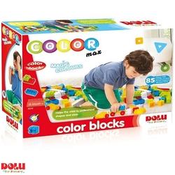 Dolu Oyuncak Fabrikasi - Dolu Eğitici Renkli Bloklar 85 Parça