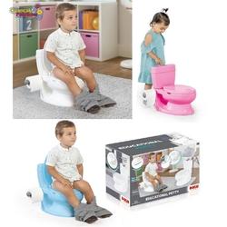 Dolu Oyuncak Fabrikasi - Dolu Eğlenceli Tuvalet Eğitimi Lazımlık Su Sesi Tuvalet Kağıtlı 38 x 39 x 28 cm