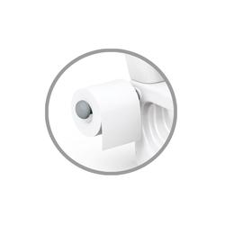 Dolu Eğlenceli Tuvalet Eğitimi Lazımlık Su Sesi Tuvalet Kağıtlı 38 x 39 x 28 cm - Thumbnail