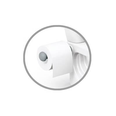 Dolu Eğlenceli Tuvalet Eğitimi Lazımlık Su Sesi Tuvalet Kağıtlı 38 x 39 x 28 cm