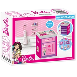 Dolu Oyuncak Fabrikasi - Dolu Oyuncak Barbie Buzdolabı Sesli Aksesuarlı