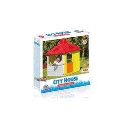 Dolu Oyuncak Fabrikasi - Dolu Plastik Bahçe Oyuncak Şehir Evi City Hause 3010