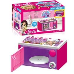 Dolu Oyuncak Fabrikasi - Dolu Toys Barbie Oyuncak Mikrodalga Fırın Sesli Aksesuarlı