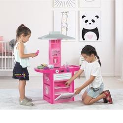 Dolu Oyuncak Fabrikasi - Dolu Toys Unicorn Pembe Oyuncak Mutfak Seti Sesli Aksesuarlı